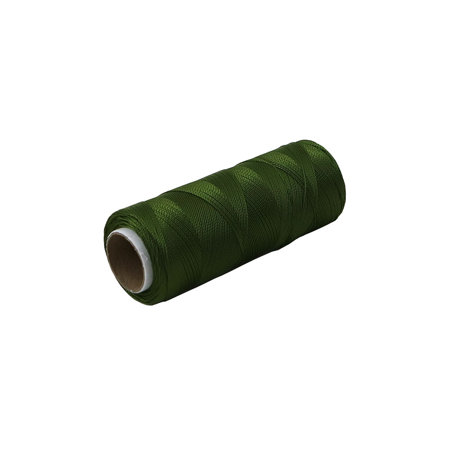 Polyamide thread 187 tex dark-green, 250 meters - 1