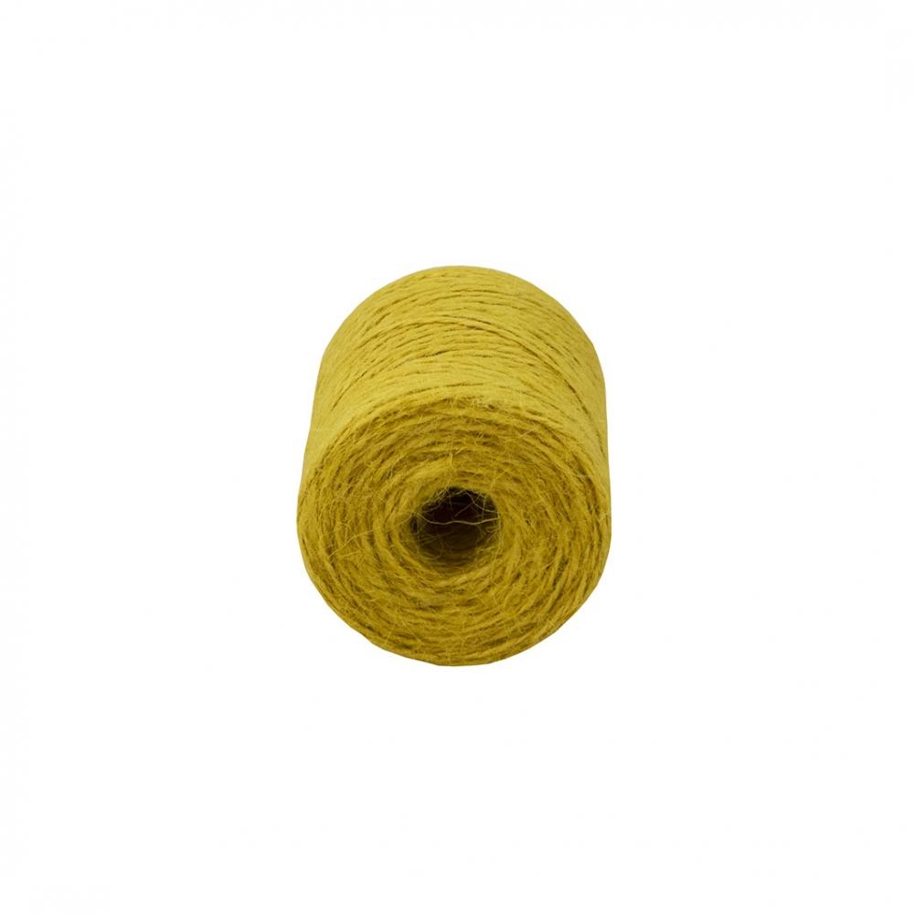 Jute twine yellow, 90 meters - 2