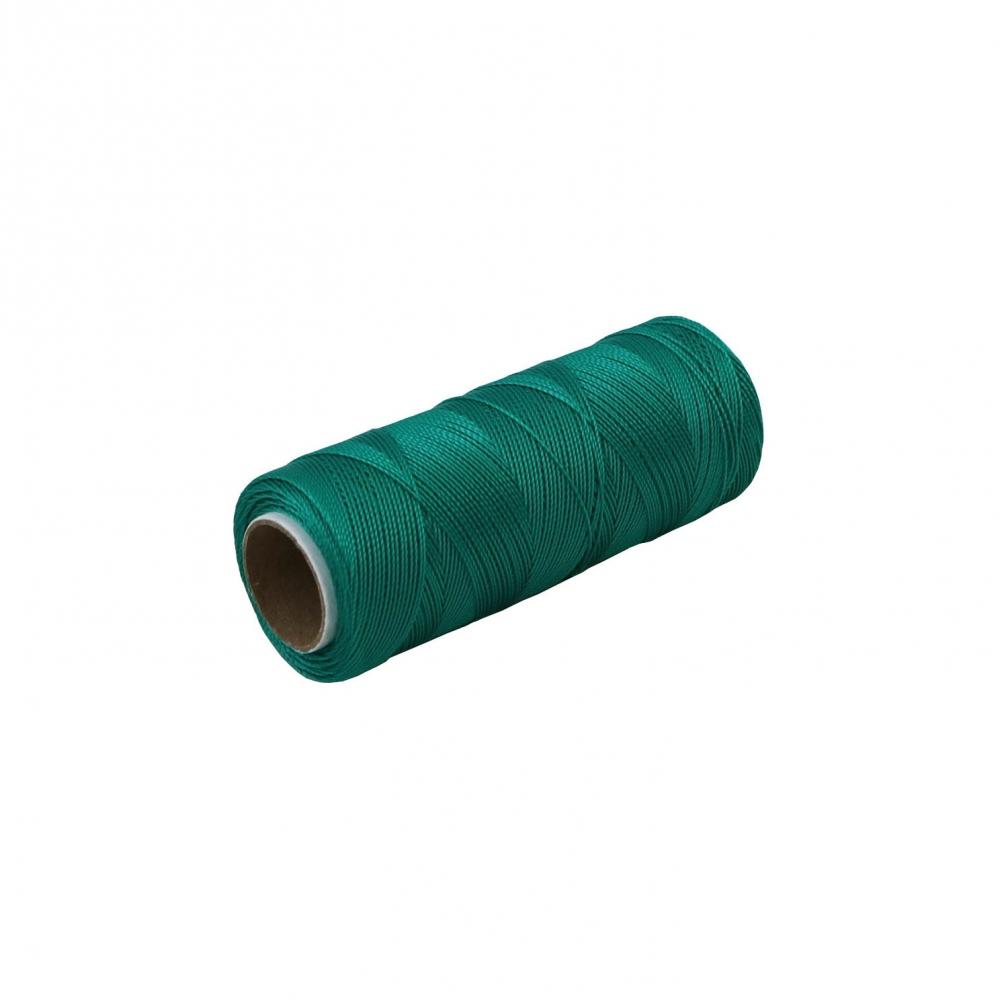 Polyamide thread 187 tex green, 250 meters - 1