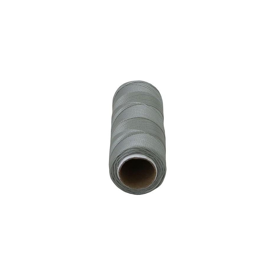 Polyamide thread 187 tex grey, 250 meters - 2