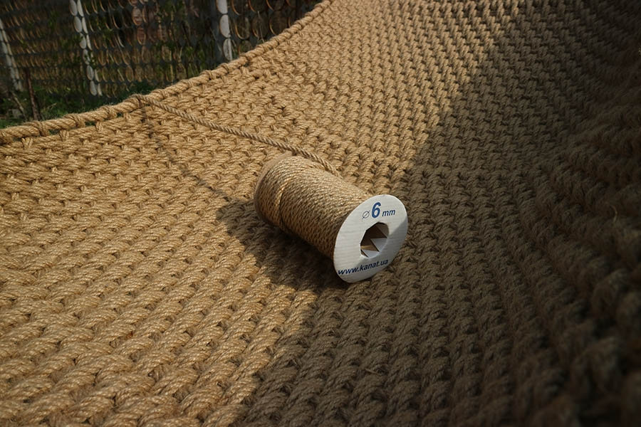 Jute rope Ø 6mm, 25 meters - 4