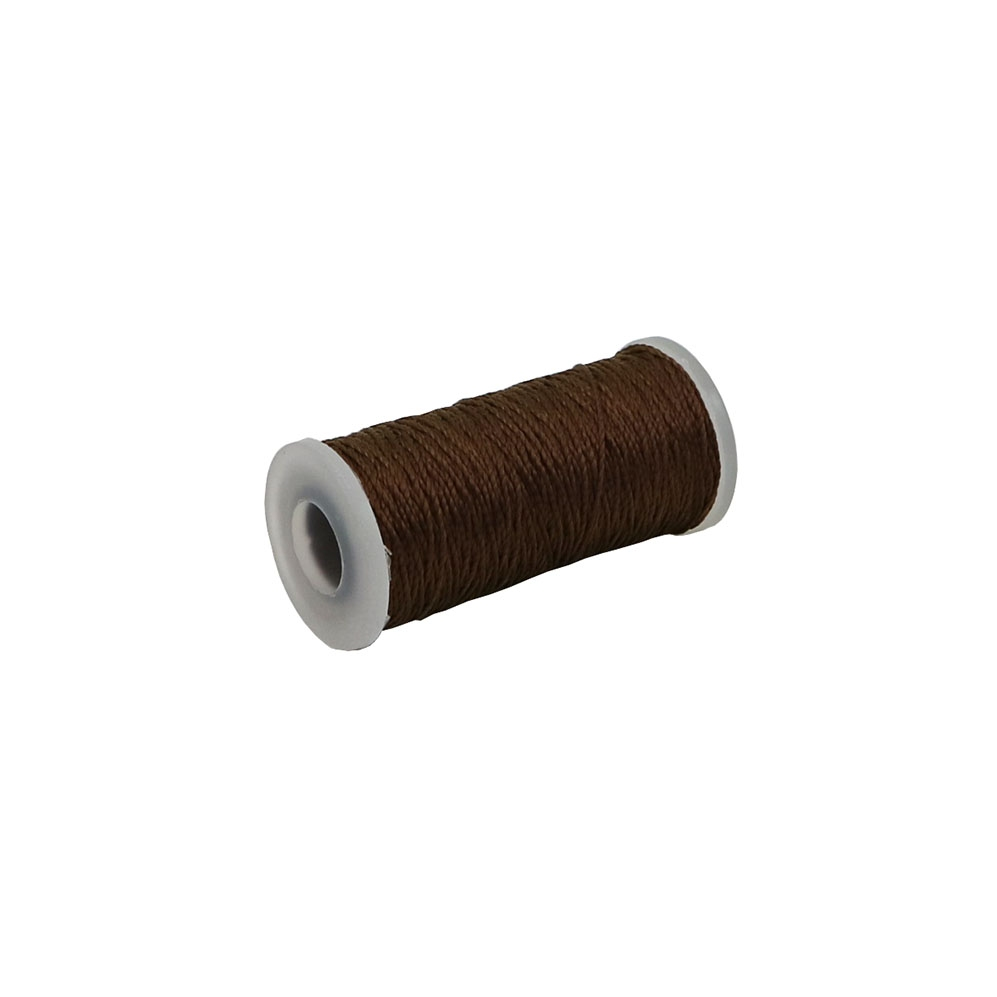 Polyamide thread 375 tex brown, 65 meters - 1