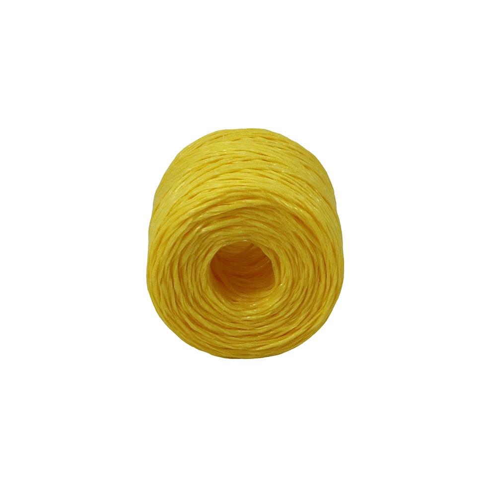Шпагат поліпропіленовий жовтий, 100 метрів/бобіна - 2