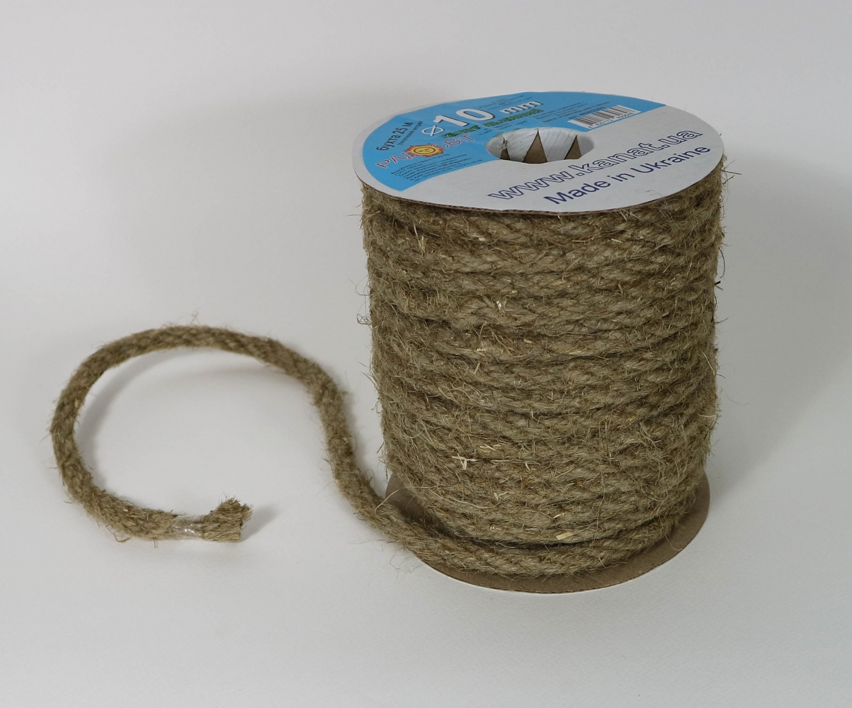 Linen rope Ø 10mm, 25 meters - 3