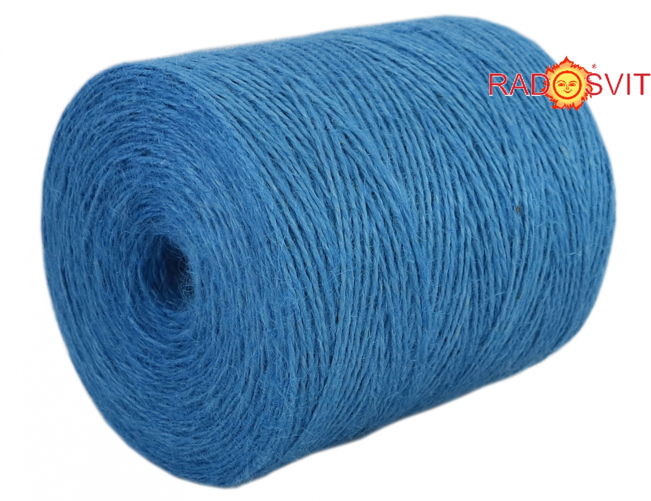 Jute twine light blue, 760 meters - 1