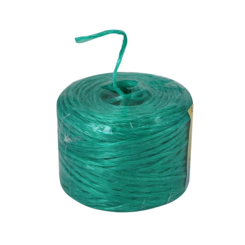 Polypropylene twine green, 100 meters - 2