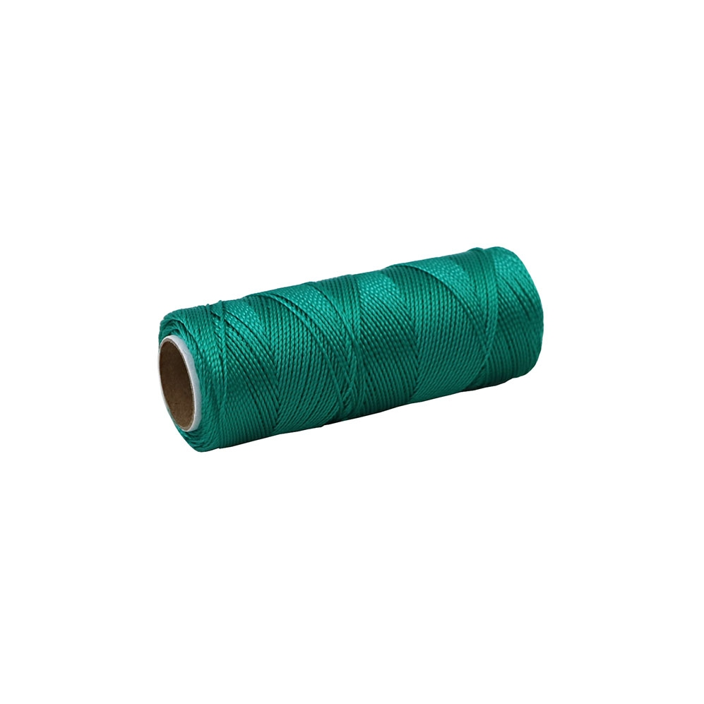 Polyamide thread 375 tex green, 125 meters - 1