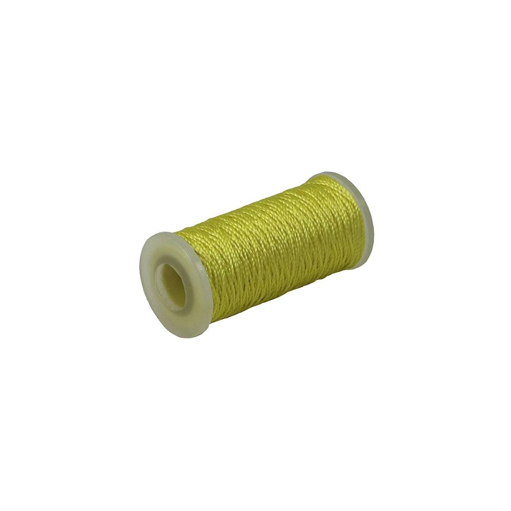 Polyamide thread 375 tex yellow, 65 meters - 1