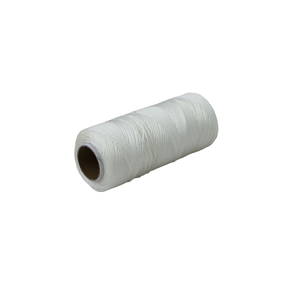 Polypropylene thread white, 165 meters - 1