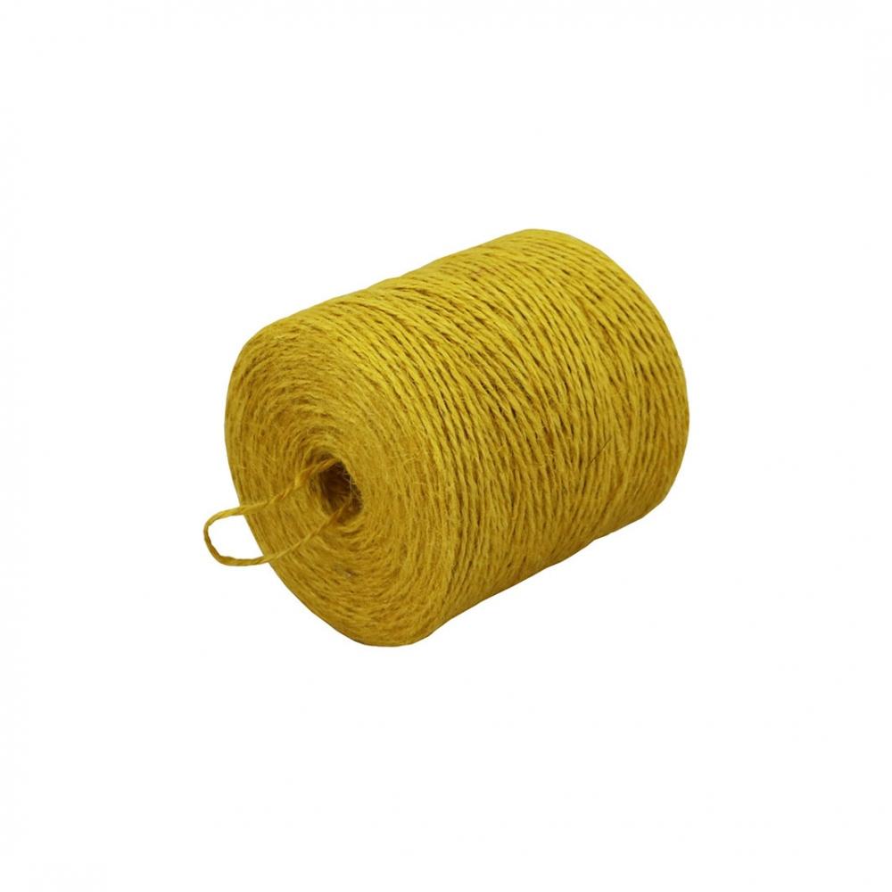 Шпагат джутовий жовтий, 350 метрів - 1