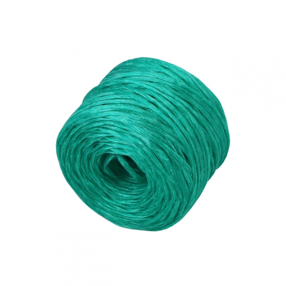 Polypropylene twine green, 100 meters - 3