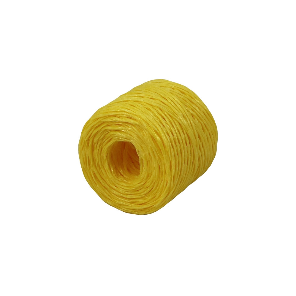 Шпагат поліпропіленовий жовтий, 100 метрів/бобіна - 1