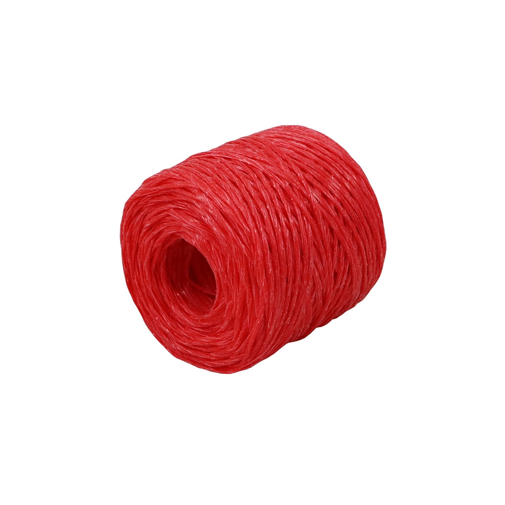 Polypropylene twine red, 100 meters - 1