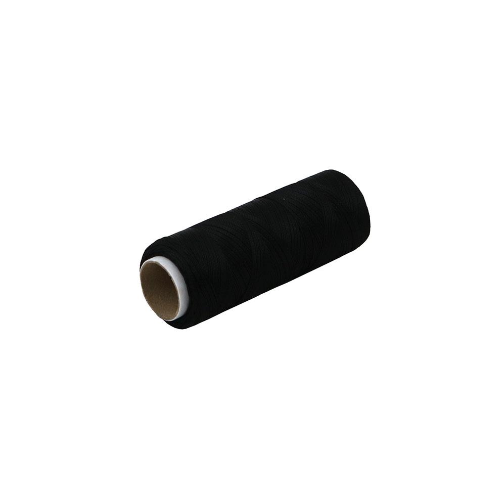 Polyamide thread 187 tex black, 250 meters - 1