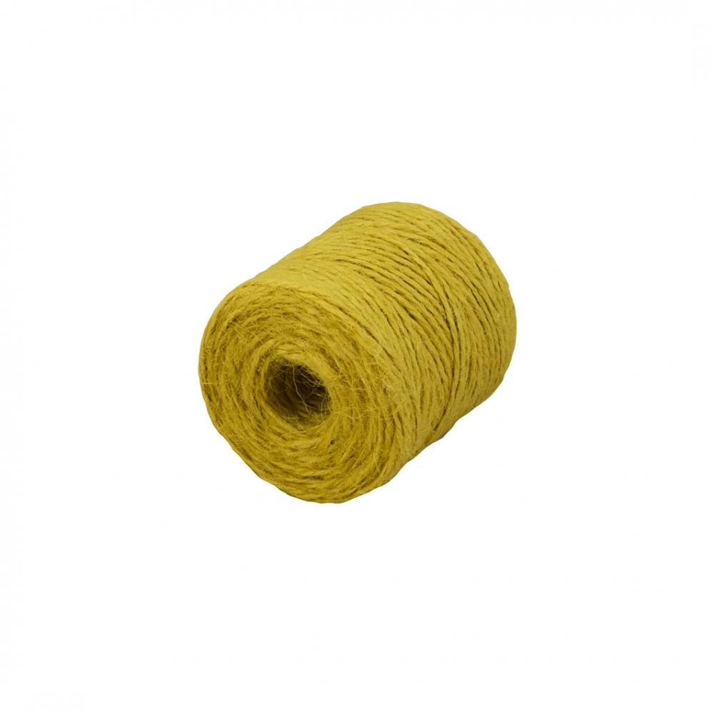 Jute twine yellow, 90 meters - 1