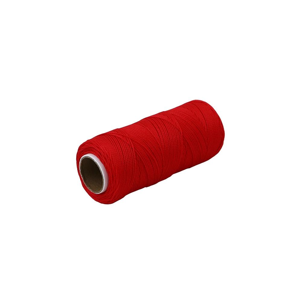 Polypropylene thread red, 165 meters - 1