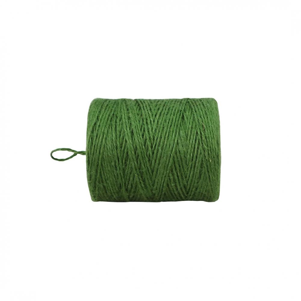 Шпагат джутовий зелений, 250 метрів - 2