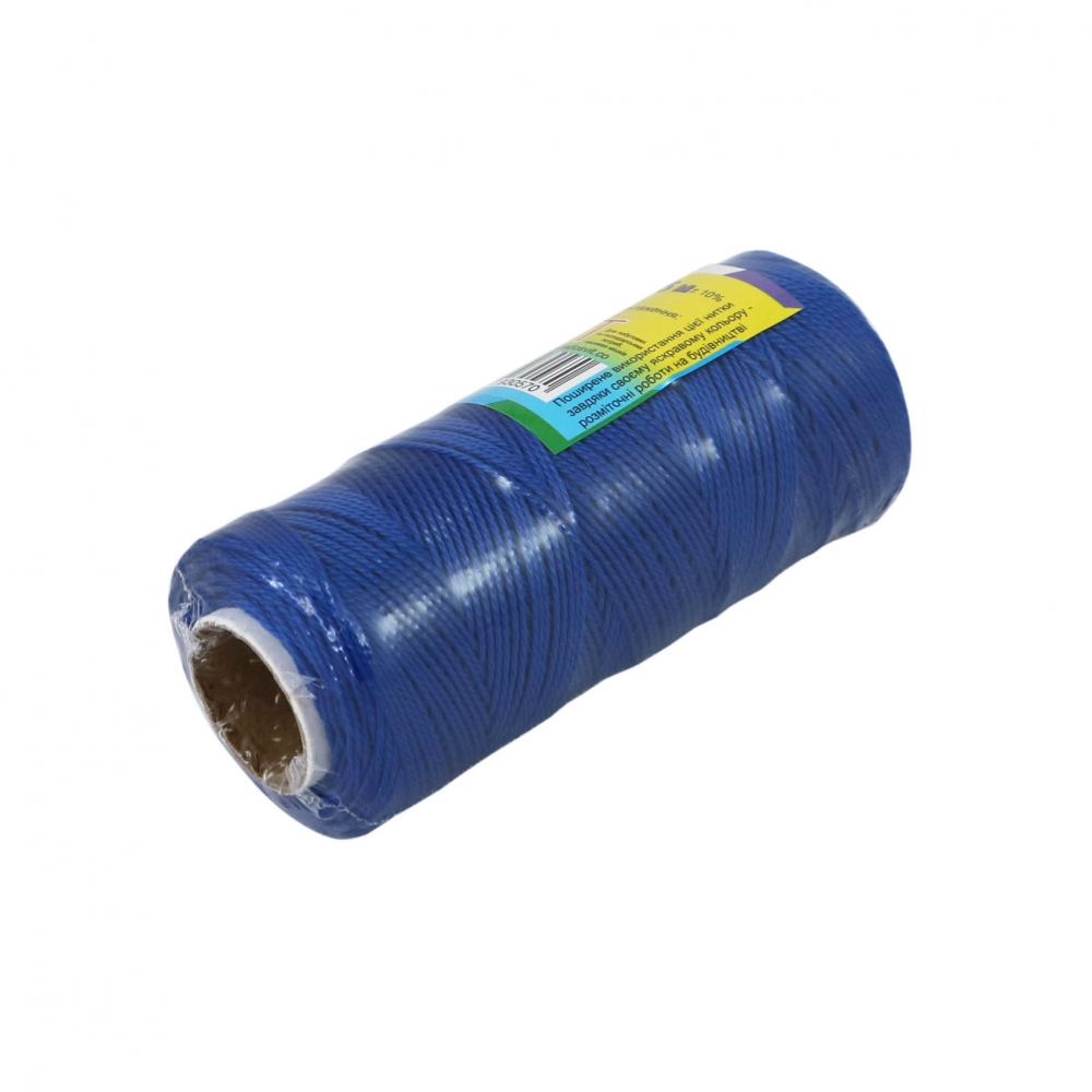 Polypropylene thread blue, 165 meters - 1