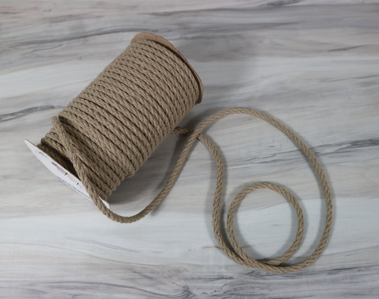Linen rope diameter 6mm length 25 meters - 3