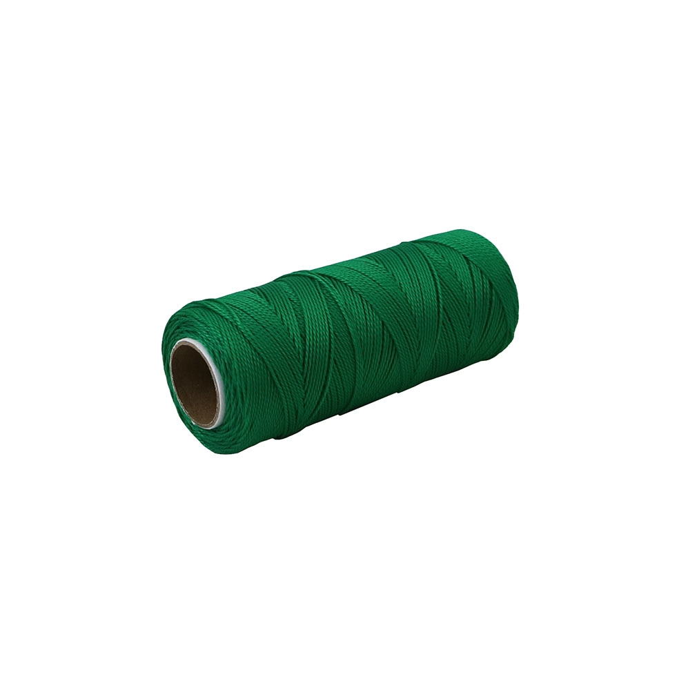 Polypropylene thread green, 165 meters - 1