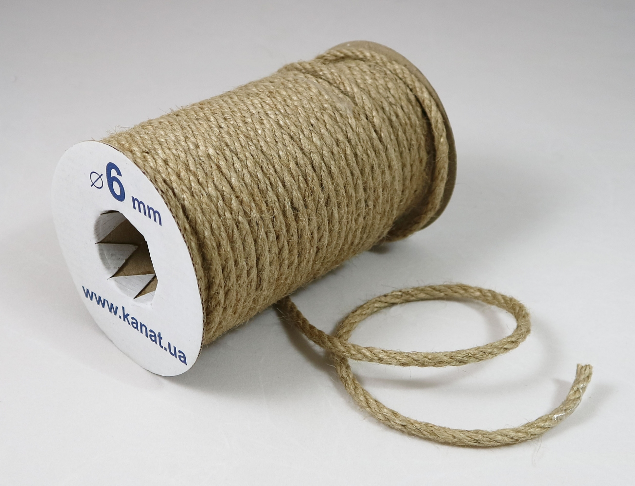 Jute rope Ø 6mm, 25 meters - 1