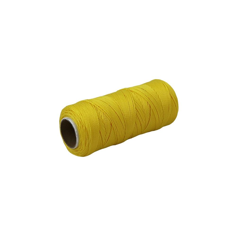 Polypropylene thread yellow, 165 meters - 1