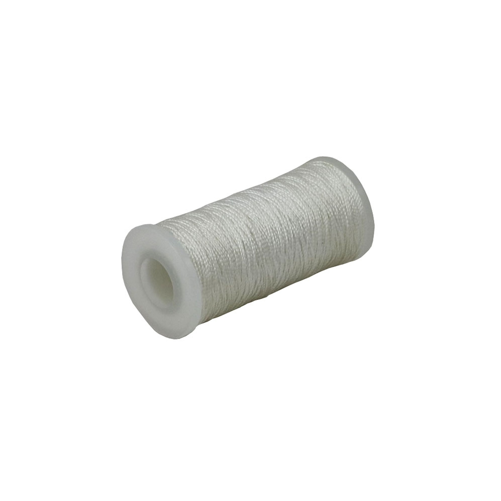 Polyamide thread 187 tex white, 135 meters - 1