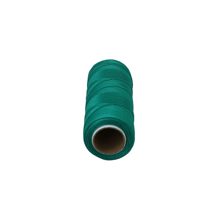 Polyamide thread 187 tex green, 250 meters - 2