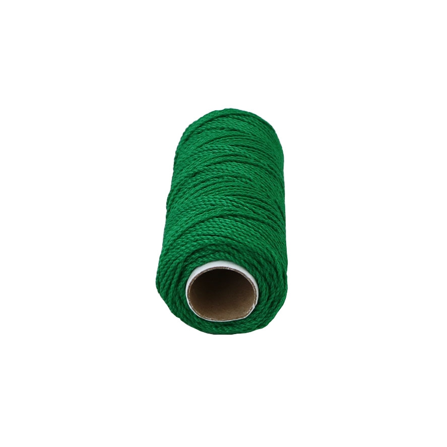 Polypropylene cord green, 80 meters - 2