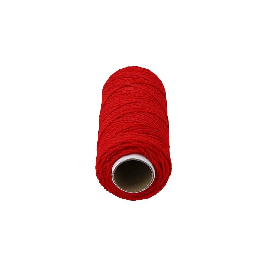 Polypropylene cord red, 80 meters - 2