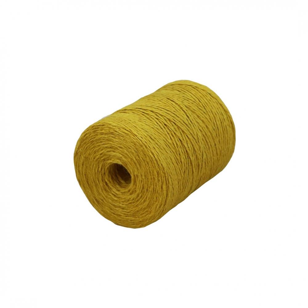 Jute twine yellow, 250 meters - 1