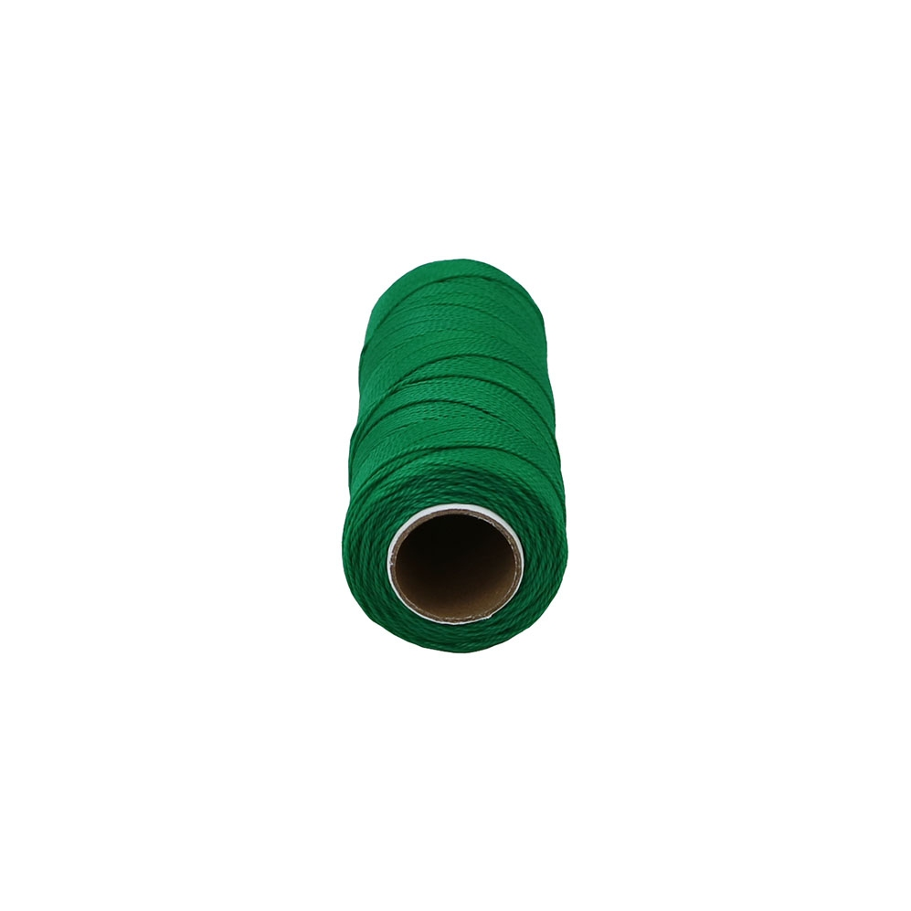Polypropylene thread green, 165 meters - 2