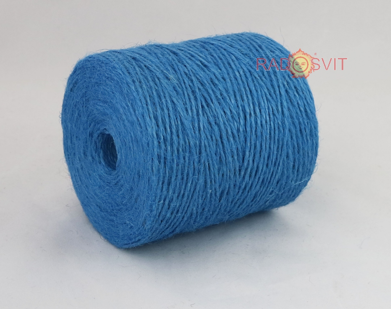 Jute twine light blue, 350 meters - 1