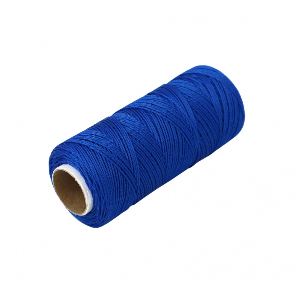 Polypropylene thread blue, 165 meters - 3