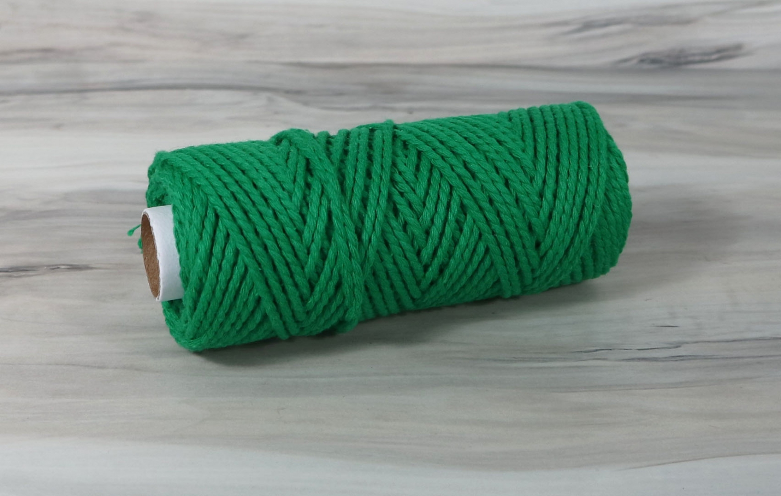 Шнур бавовняний зелений, 50 метрів - 1