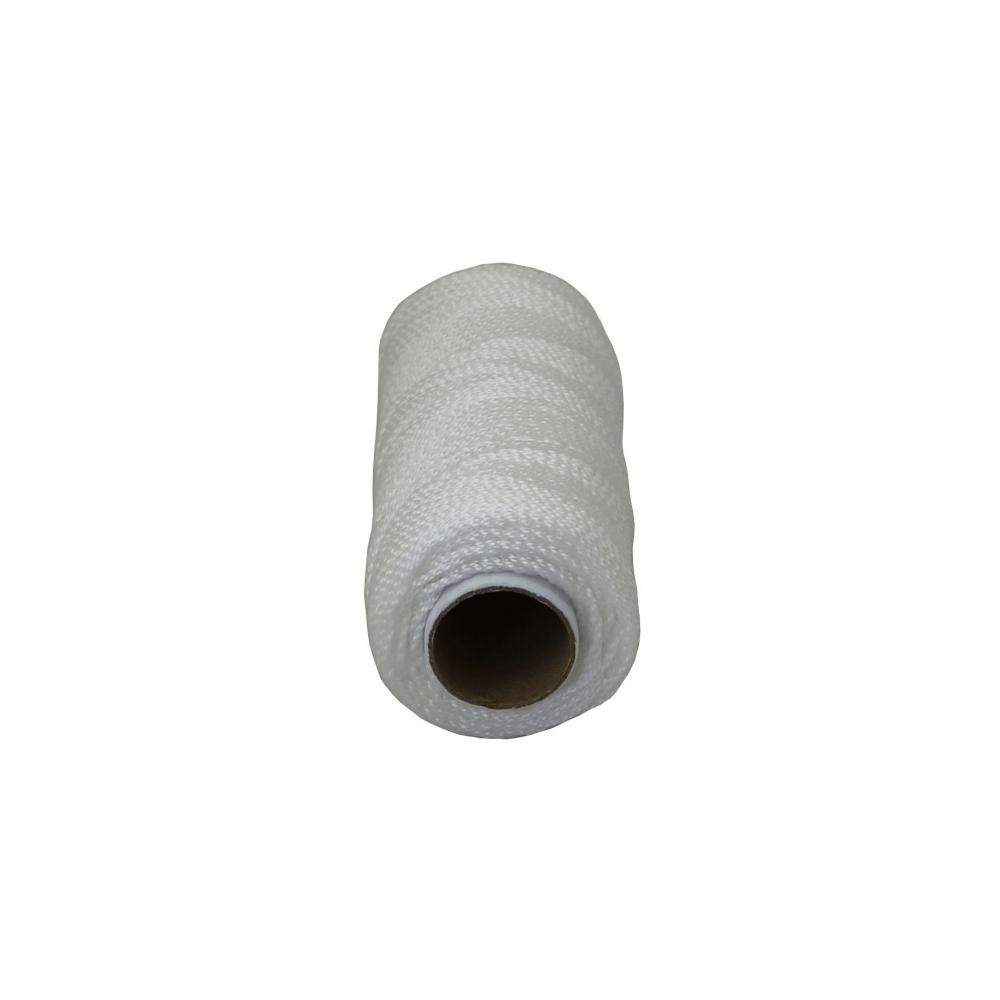 Шнурок поліпропіленовий кручений білий, 80 метрів - 2
