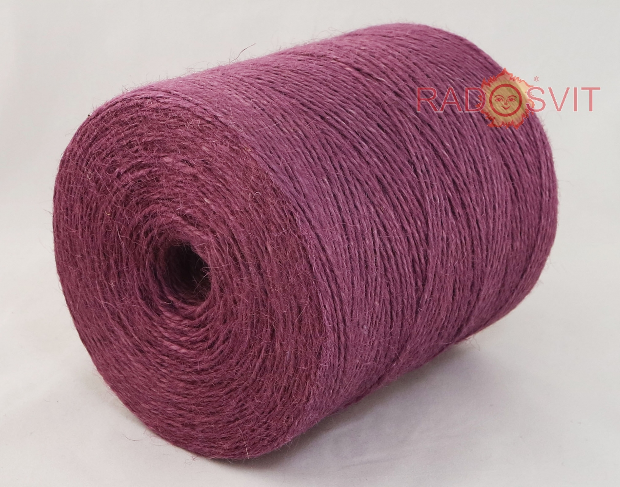 Jute twine in light purple color, 760 meters - 1
