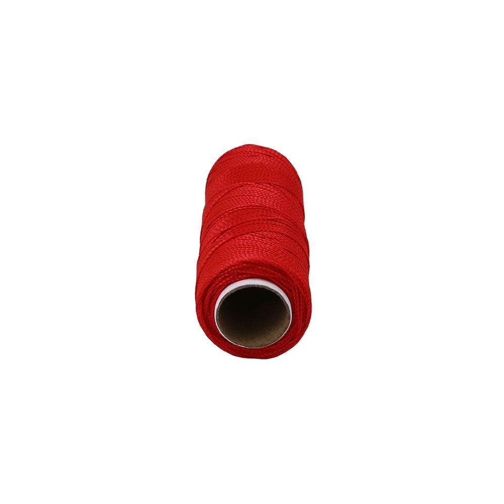 Нитка капронова 375 текс червона, 125 метрів - 2