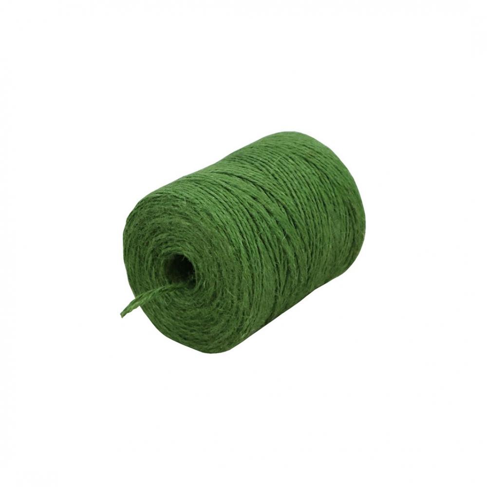 Шпагат джутовий зелений, 250 метрів - 1