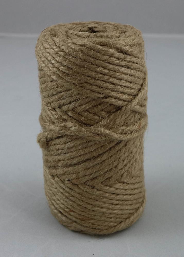 Шнур джутовий декоративний, 50 метрів - 3