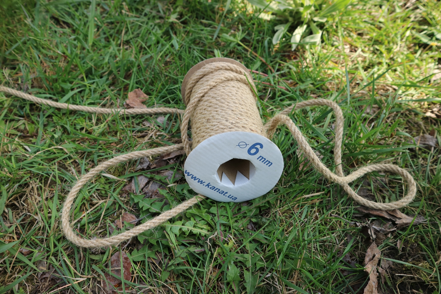Jute rope Ø 6mm, 25 meters - 3