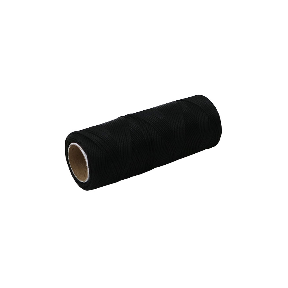 Polyamide thread 375 tex black, 125 meters - 1