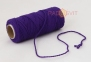 Cotton twine purple, 45 meters - 1