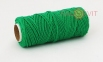 Cotton twine, dark green color, 45 meters - 2