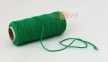 Cotton twine, dark green color, 45 meters - 1