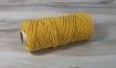 Шнур бавовняний жовтий, 50 метрів 0