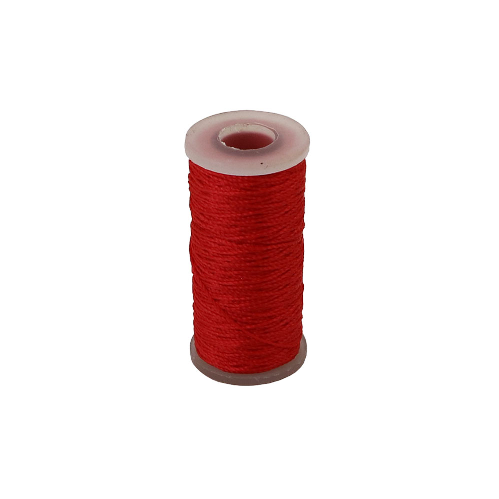 Polyamide thread 375 tex red, 65 meters