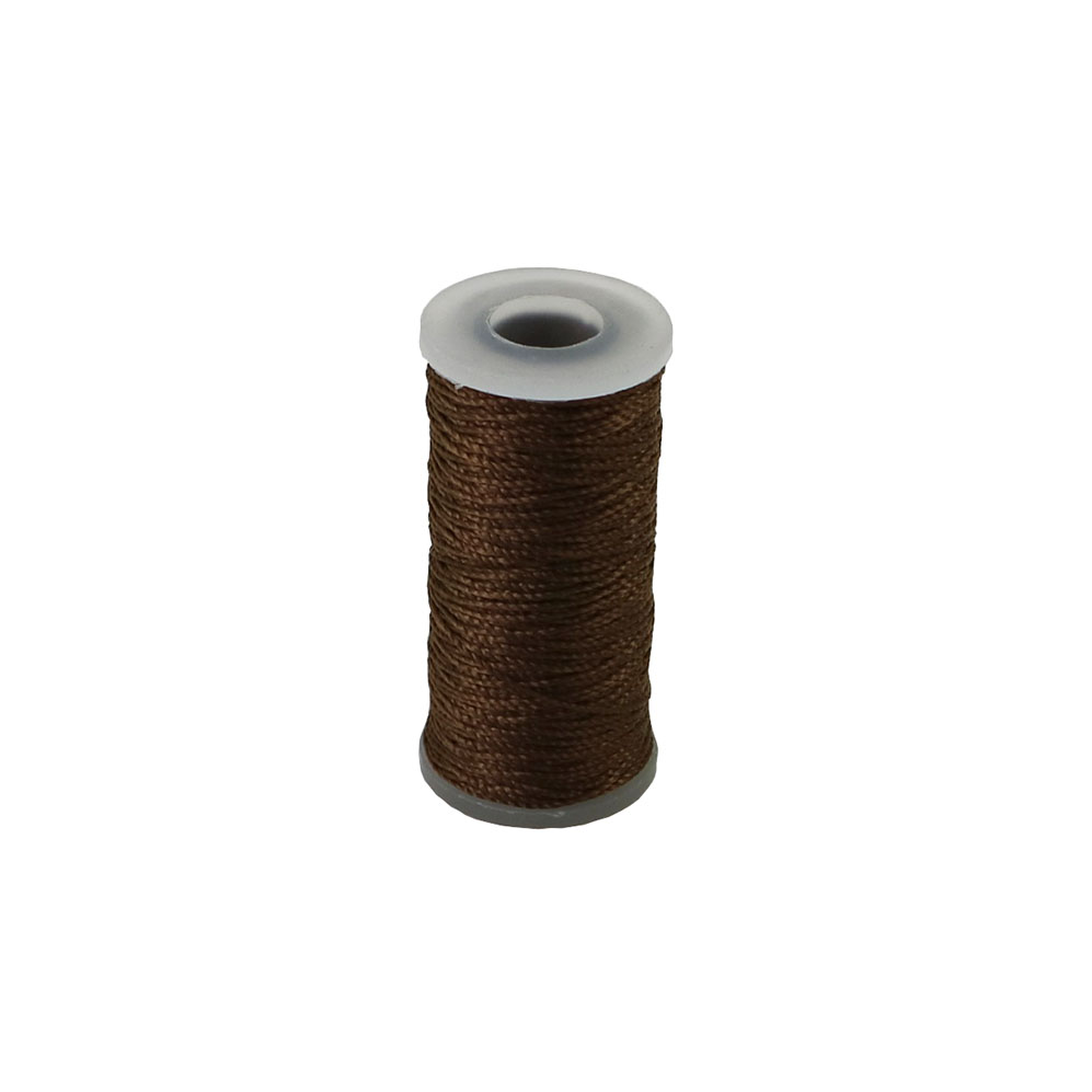 Polyamide thread 375 tex brown, 65 meters