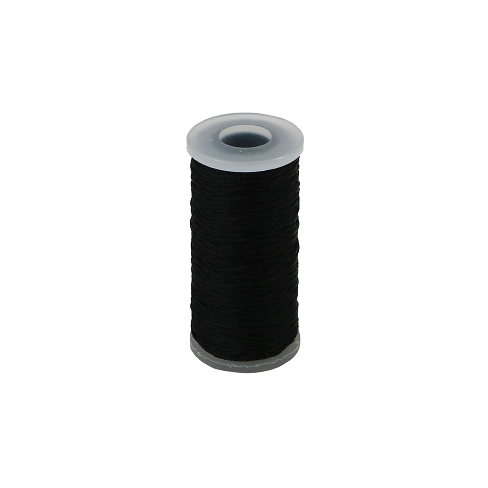 Polyamide thread 375 tex black, 65 meters