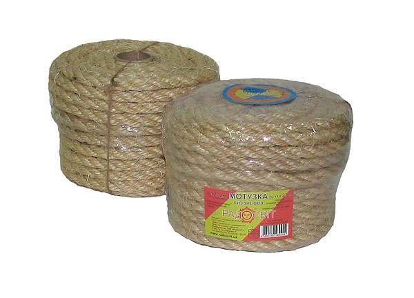 Sisal rope Ø 12mm, 25 meters